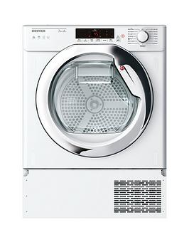 Hoover Htdbw H7A1Tce Integrated 7Kg Load, Aquavision, Heat Pump, One-Fi Extra Tumble Dryer - Dryer Only
