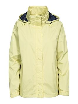 Trespass Lanna Ii Waterproof Jacket - Limelight