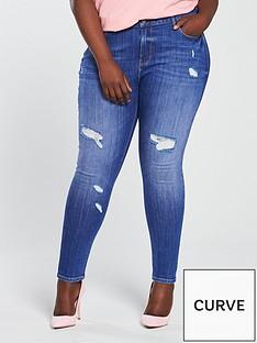 v-by-very-curve-mid-rise-rip-skinny-jean-bright-blue