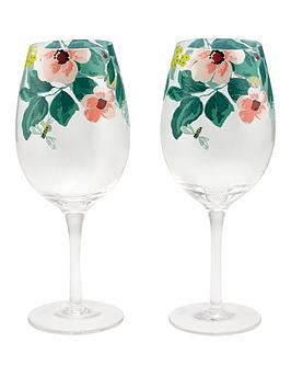 cath-kidston-set-of-2-mornington-leaves-wine-glasses