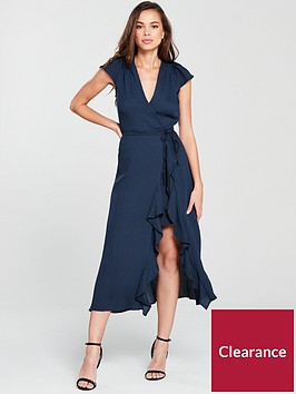 river-island-navy-midi-dress