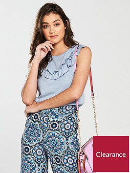 river-island-frill-front-tank-blue