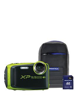 fujifilm-finepix-xp120-tough-camera-withnbsp16gbnbspsd-memory-card-amp-carry-case-nbspblacklime-green
