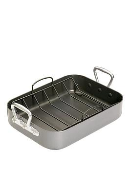 master-class-teflon-non-stick-roasting-tray-with-rack