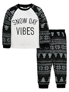 mini-v-by-very-snow-day-vibes-christmas-fleece-pyjama