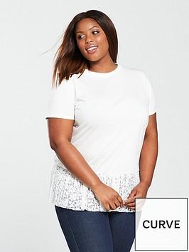 v-by-very-curve-lace-pleat-hem-t-shirt-ivory