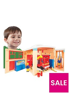 fireman-sam-pontypandy-station-playset