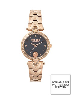 versus-versace-blue-and-swarovski-crystal-set-dial-and-bezel-with-rose-gold-tone-stainless-steel-bracelet-ladies-watch