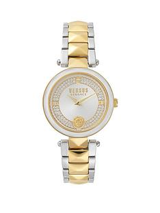 versus-versace-covent-garden-yellow-gold-tone-and-swarovski-crystal-dial-with-versus-lion-head-and-two-tone-stainless-steel-bracelet-ladies-watch