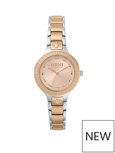 versus-versace-clarement-rose-gold-tone-dial-and-two-tone-stainless-steel-bracelet-with-versus-lion-head-ladies-watch