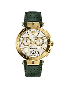 versace-v-racer-silver-and-yellow-gold-chronograph-dial-with-black-sports-leather-strap-mens-watch