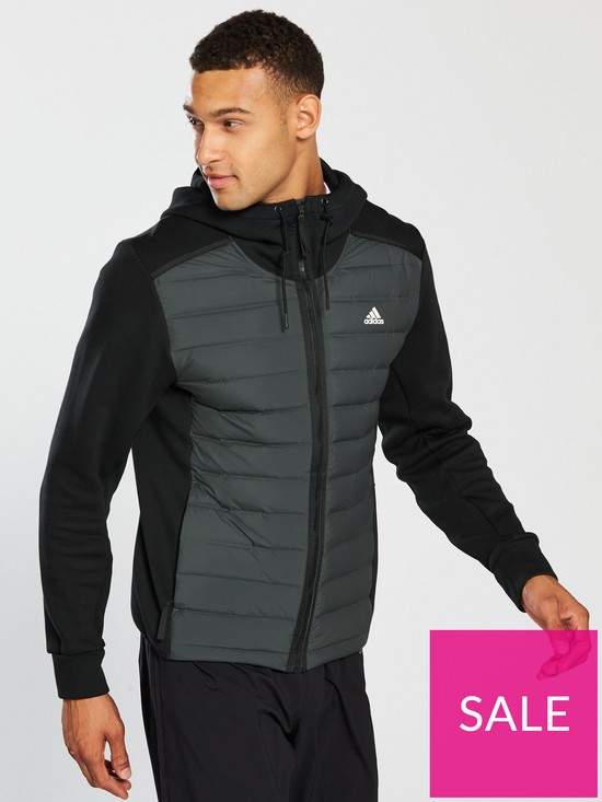 eba899c4 adidas Varilite Hybrid Jacket - Black | very.co.uk