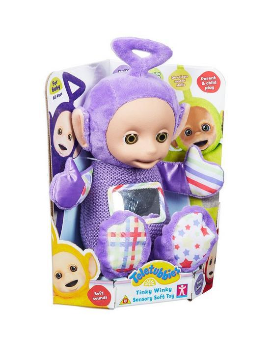 Teletubbies Tinky Winky Sensory Soft Toy  566387c61a