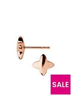 links-of-london-links-of-london-splendour-18kt-rose-gold-vermeil-stud-earrings