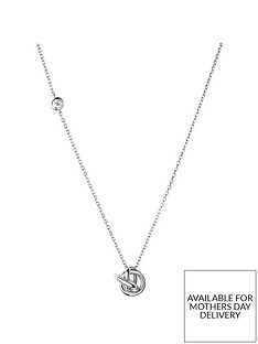links-of-london-sterling-silver-love-knot-pendant-necklace