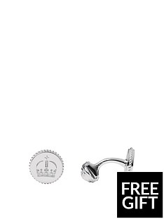 links-of-london-links-of-london-sterling-silver-royal-crown-round-cufflinks