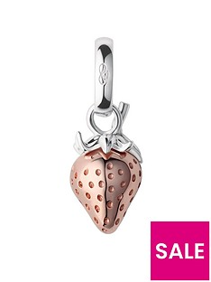 links-of-london-links-of-london-british-tea-keepsakes-sterling-silver-18kt-rose-gold-strawberry-charm