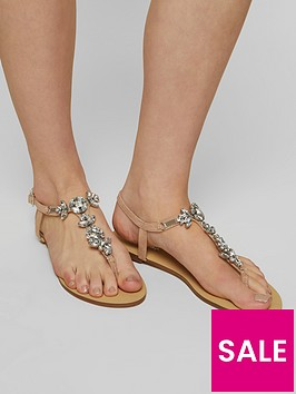 miss-selfridge-occasion-sandal-nude