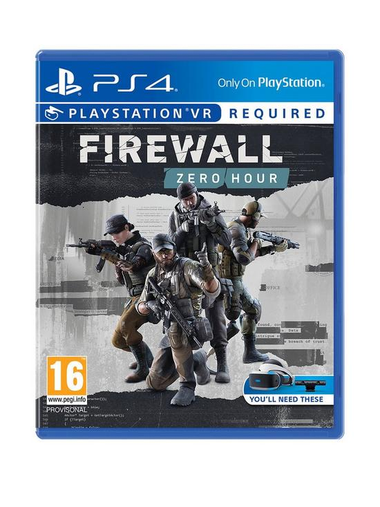 Firewall Zero Hour - PlayStation VR Required - PS4