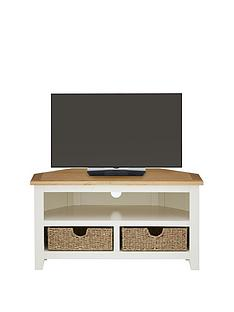 Luxe Collection - Clovely Ready Assembled Corner TV Unit - fits up to 40 inch TV