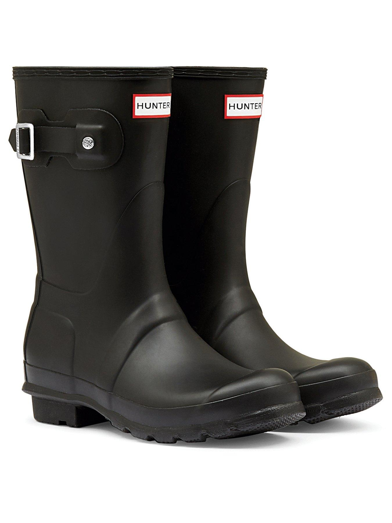 Scrub MX Red//White Unisex Wellington Boots Rubber Wellies Variety Sizes