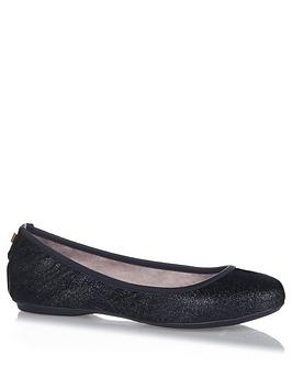 Butterfly Twists Sophia Ballerina Shoe - Black Glitter