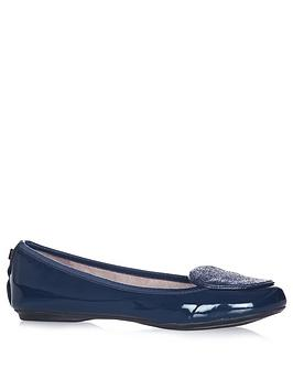 Butterfly Twists Evie Ballerina - Navy