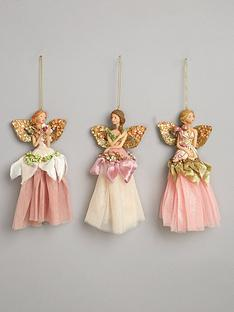 gisela-graham-pastel-angel-christmas-tree-decorations-set-of-3