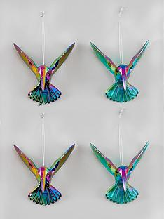 gisela-graham-hummingbird-christmas-tree-decorations-4-pack