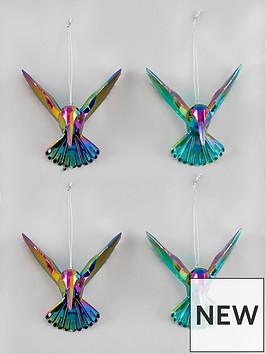 gisela-graham-hummingbird-tree-decs-4-pack