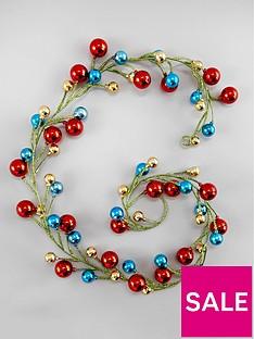 gisela-graham-multicoloured-ball-and-tinsel-garland