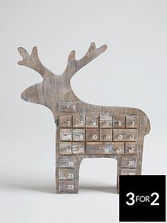 gisela-graham-reindeer-3d-christmas-advent-calendar-room-decoration