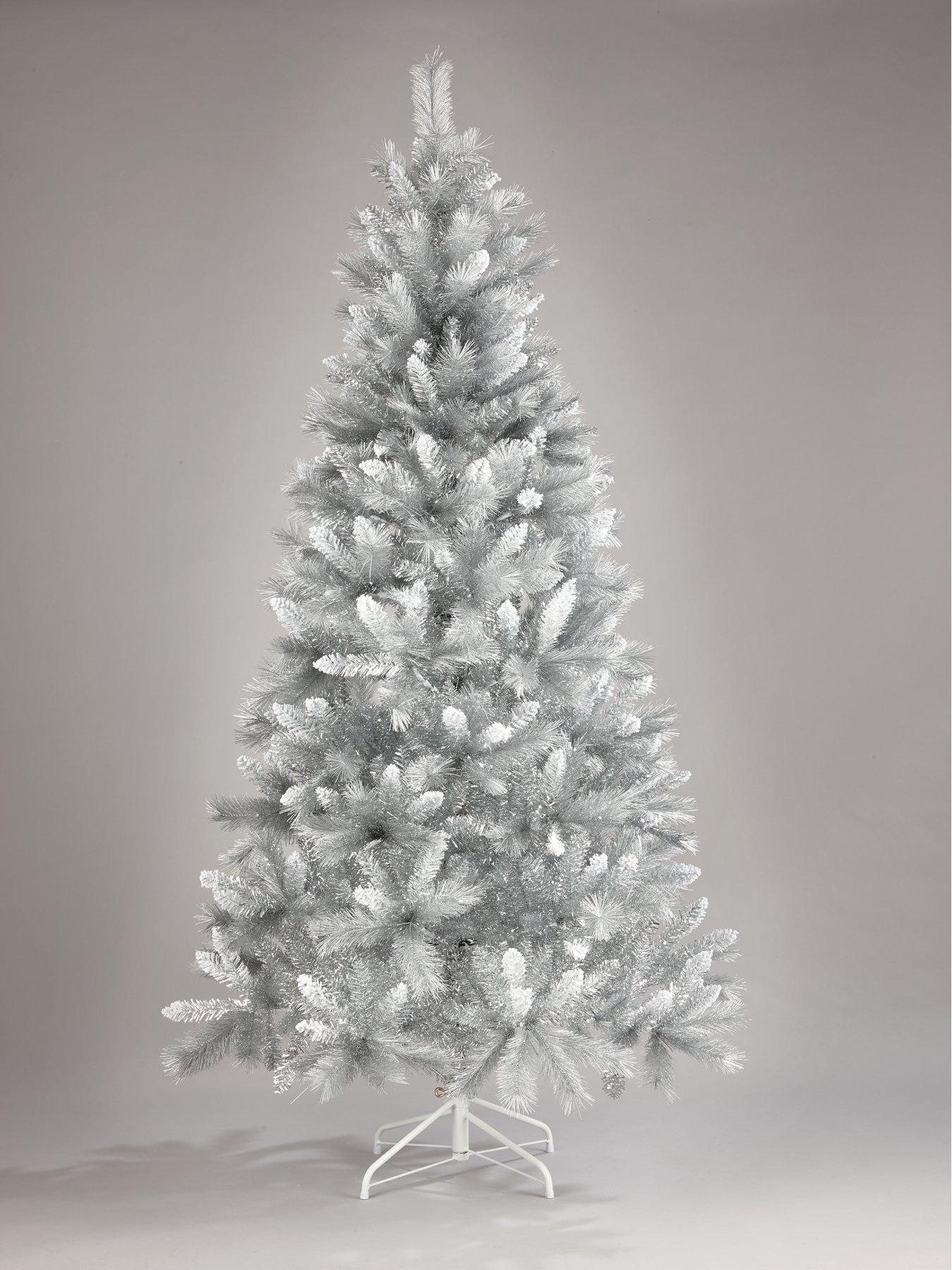 Christmas Trees   Green & White Christmas Trees   Very.co.uk