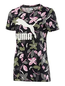 puma-older-girls-printed-tee