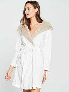 v-by-very-faux-fur-hooded-velour-dressing-gown-creamtaupe