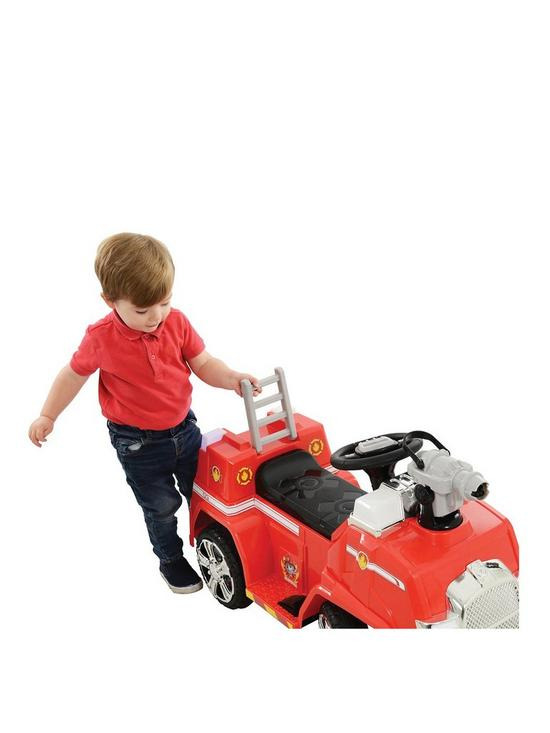 Paw Patrol 6v Battery Operated Marshall Fightin Bubble Blower Fire Truck