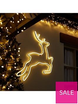 neon-reindeer-wall-light-outdoor-christmas-decoration