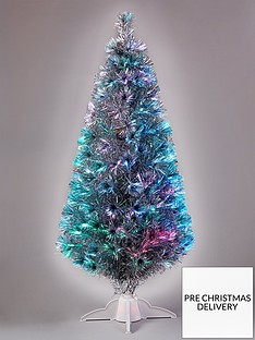 5ft-silver-fibre-optic-christmas-tree