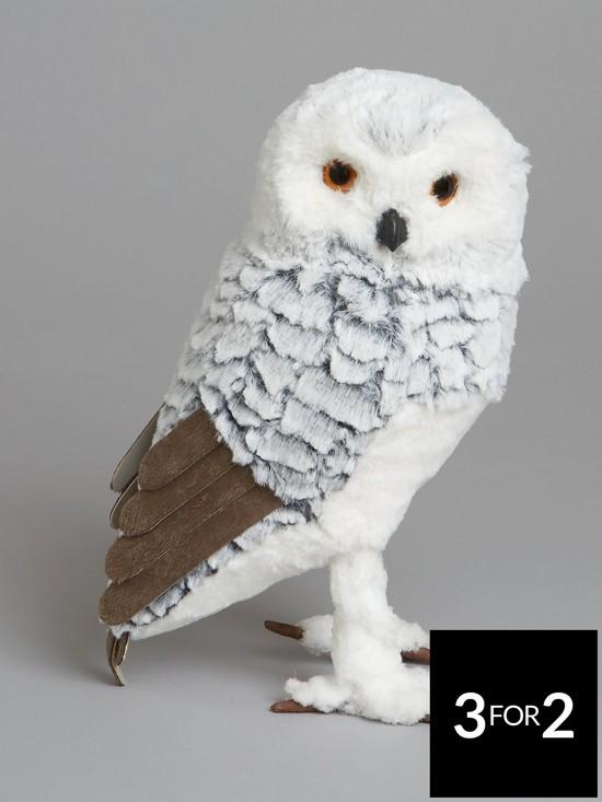 plush owl christmas decoration verycouk