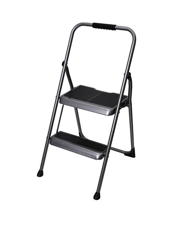 Pleasing 2 Step Stepstool Steel Inzonedesignstudio Interior Chair Design Inzonedesignstudiocom