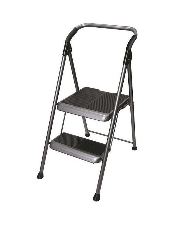 Stupendous 2 Step Big Step Stepstool Steel Bralicious Painted Fabric Chair Ideas Braliciousco