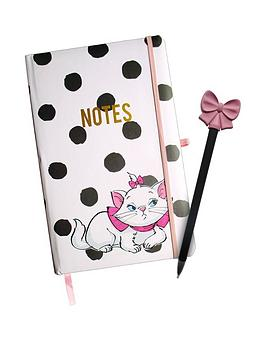 disney-aristocats-marie-notebook-and-pen
