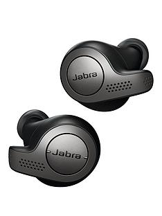 Jabra Elite 65t Truly Wireless Earbuds with Bluetooth® 5.0 and IP55 rating - Titanium Black