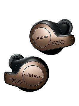 Jabra Elite 65T Truly Wireless Earbuds With Bluetooth&Reg; 5.0 And Ip55 Rating – Black And Copper