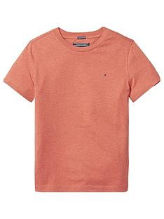 a4fdb024 Tommy Hilfiger Boys Essential Flag T-Shirt - Red