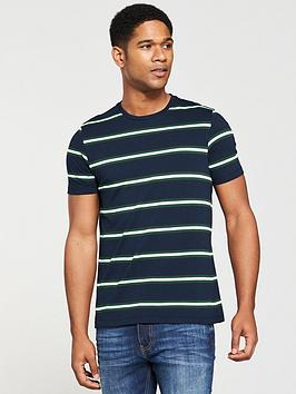 v-by-very-yarn-dyed-stripe-tee