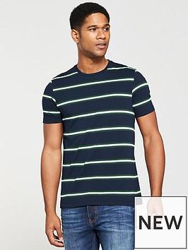 v-by-very-yarn-dyed-stripe-tee
