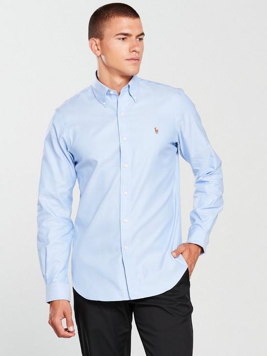 728fa492849f Polo Ralph Lauren Golf Long Sleeve Oxford Shirt