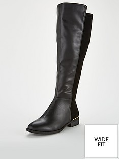 v-by-very-wide-fit-iris-stretch-back-flat-knee-boot-black