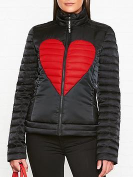 love-moschino-padded-heart-motif-jacket-blackred